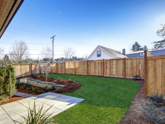 new wood fence Braintree ma